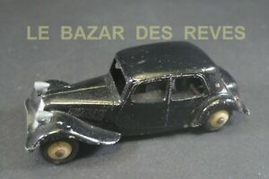 DINKY TOYS FRANCE. CITROEN TRACTION 11 BL.  REF: 24 N.
