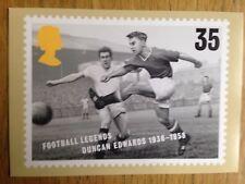 Duncan Edwards Manchester United postcard