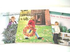 Martha Stewart Books,  How To Decorate, Handmade Christmas, Wreaths