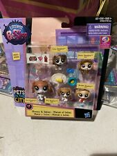 Littlest Pet Shop Families Beagles 231-235 Essie Tubsy Busy Breezy Beagleton