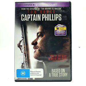 Captain Phillips (DVD, Region 4, 2013)