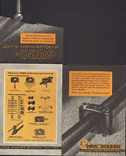 BERLIN, Prospekt 1967 Paul Jordan GURO Elektro-Technik Werke Keil-Bolzen-Schelle