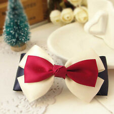 Hot Exquisite  Women Hairband Clip Ribbon Hairpin Barrette Hair Accessories