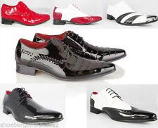Chaussures habillées rouge pour homme