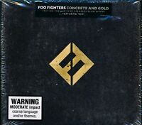 Foo Fighters Concrete And Gold CD NEW digipak Run Make It Right