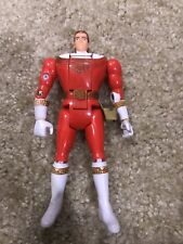 Power Rangers Zeo Red Ranger Auto Morphin Flip Head
