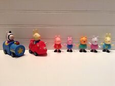 Peppa Pig Dollhouse Action Figures Lot Set Of 7
