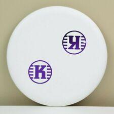 🔥 *MISPRINT* Kastaplast K3 Reko, White, Purple Foil, Circle Logo, 171g