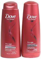 1 Dove Hair Therapy Pro Age Micro Moisture Serum Shampoo & Conditioner Set