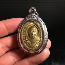 Beautiful Lp Non หลวงพ่อนนท์ Thai Buddha Amulet Luck Rich Wealth Protect