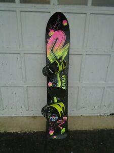 K2 Gyrator Snowboard 151cm - Sims Bindings