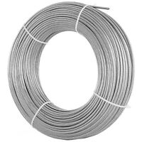 """Cable Railing T316 Stainless Steel Wire Rope Cable Strand, 1/8"""", 1x19, 200 ft"""