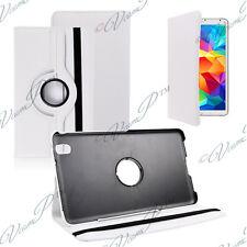 Cover Case Rotary Rotation 360° WHITE Samsung Galaxy Tab 4 8.0 LTE SM-T335 4G