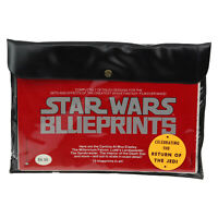 1977 Star Wars 15 Blueprints Sealed in Pouch Vintage