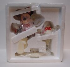 2003 Dept 56 Snowbabies Guest Collection Minnie and Me Skating w/packaging