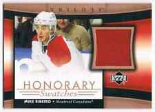 2005-06 TRILOGY HONORARY SWATCHES MIKE RIBEIRO JERSEY 1 COLOR MONTREAL CANADIENS