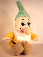 "WALT DISNEY SEVEN DWARFS ""BASHFUL"" Original Stuff Plush Toy"