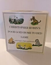 Christopher Robin's Pooh Goes Home To Bed Game UK 1990 Rare