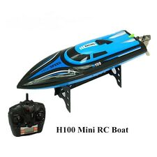 30KM/H RC Boat High Speed Racing Boat Remote Control Airship 2.4GHz Boats LCD