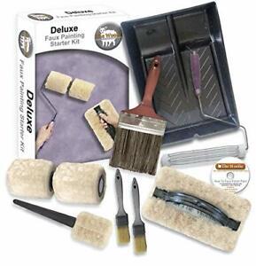 Deluxe Sheepskin Dual 2-Color Split Roller Full-Sized 9' Sheepskin Double Pa...