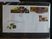 2005 AUSTRALIAN WINE SET 5 STAMPS FDC FIRST DAY COVER
