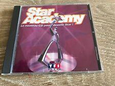 Star Academy Le nouveau CD pour devenir Star !  2002 Universal TF1
