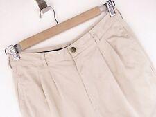 Pantaloncini da Golf da AT3854 Pringle Pantaloni Premium Vintage originale ITALIA a Pieghe Taglia 32