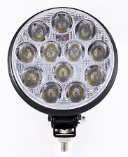 "5"" Inch 12 Led Round Work Spot Light 36w Off Road Atv Truck 4x4 Lamp - Qty 1"