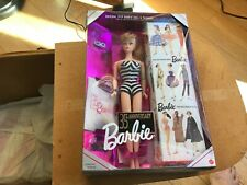 Mattel 35th Anniversary: Original '59 Barbie Doll & Package Special Ed. Repro.