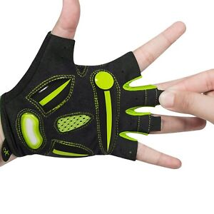 Half Finger Cycling Gloves Breathable MTB Road Bicycle Sports Shockproof Gloves