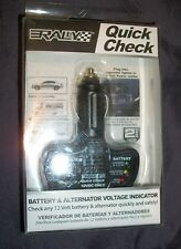 Rally Quick Check Battery & Alternator Voltage Indicator