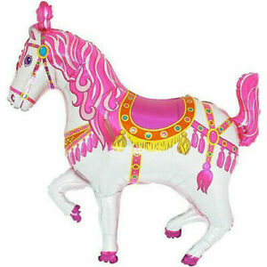 Large Circus Horse Foil Balloon 91 cm Wide Birthday Party Event Decoration
