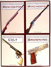 AMERICAS PREMIER GUNMAKERS Colt,Remington,Browning & Winchester Kirkland 4pk NEW