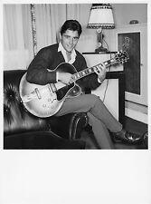 Photo originale Sacha Distel guitare