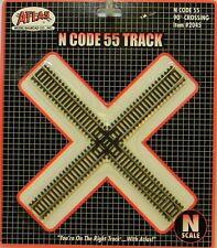 NIB N Atlas #2045 Code 55 90 deg Crossing Track