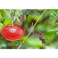 Plastic Bird Water Feeder Bottle Hanging Hummingbird Feeder Garden Outdoor Red