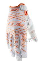 JT racing guantes Lite lazers Weiss Orange Motocross Enduro MTB downhill MX