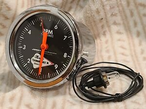 Moroso 10,000rpm Tattle Tale Tachometer Gauge! Real Racing History! RARE Early!
