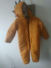 Matalan baby boy dinosaur snowsuit 12-18 months worn once