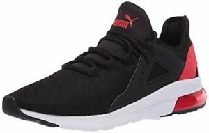 PUMA Women's Electron Street Sneaker, Black, Size 9.5 eDLo
