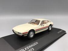 VW SP2, weiss/rot, 1973  - 1:43 Whitebox  *NEW*