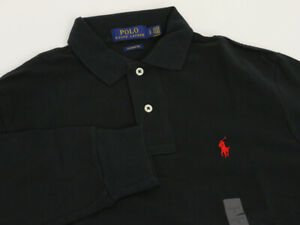 Polo Ralph Lauren Long Sleeve Classic Fit Solid Polo Shirt - 2 colors -