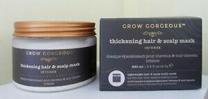 GROW GORGEOUS THICKENING HAIR & SCALP MASK INTENSE FOR THIN HAIR 280ML
