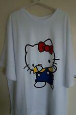 BNWT - HELLO KITTY x ASOS WHITE DABBING T-SHIRT TOP. RARE! UK 16