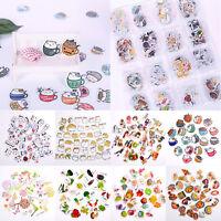 Multi Style Cartoon Korean Adhesive Decorative Stickers Scrapbooking Diary Decor