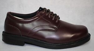 Deer Stags Times Brown SMTH Leather S.U.P.R.O. SOCK  Oxfords Shoe US Size 9.5 W