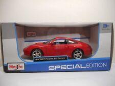 Voitures, camions et fourgons miniatures rouge Maisto pour Porsche