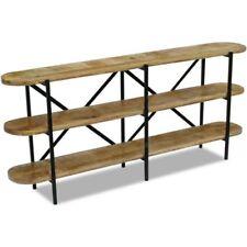 Brown Wood Vintage/Retro Sideboards, Buffets & Trolleys