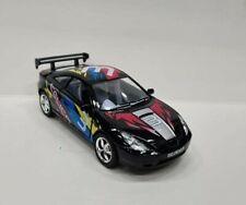 Toyota Celica black kinsmart Toy car model 1/34 scale diecast metal open doors