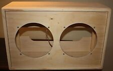 rawcabs 2x10 dove tail rear load open back empty pine speaker cabinet